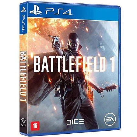 Battlefield 1 - PS4 (usado)