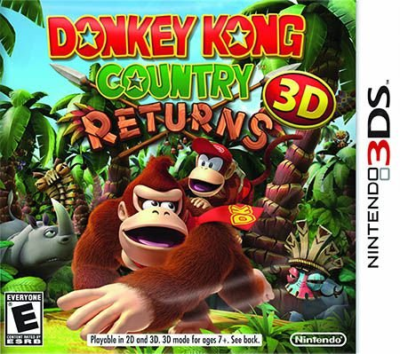 Donkey Kong Country Returns - 3DS (usado)