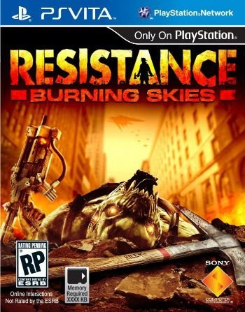 PSV Resistance - Burning Skies (usado)