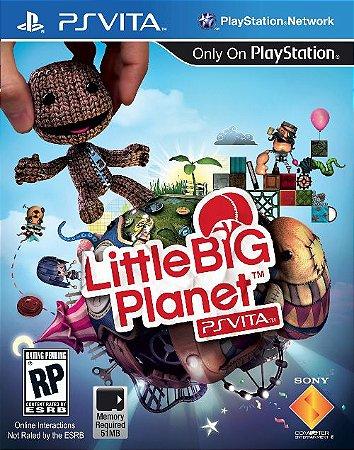 PSV Little Big Planet (usado)