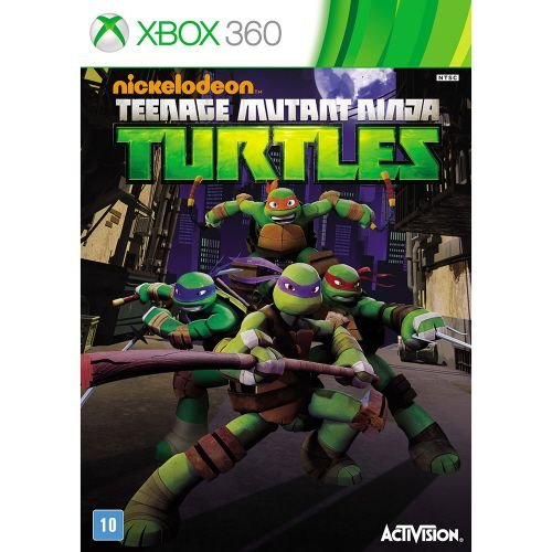 X360 Nickelodeon Teenage Mutant Ninja Turtles (usado)