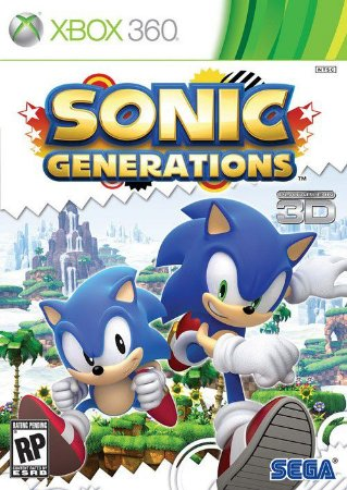 Sonic Generations - Xbox 360 (usado)