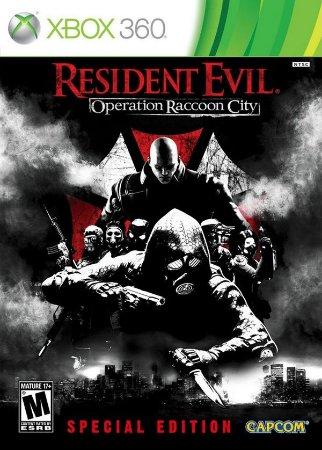 X360 Resident Evil - Operation Raccoon City Steelbok (usado)