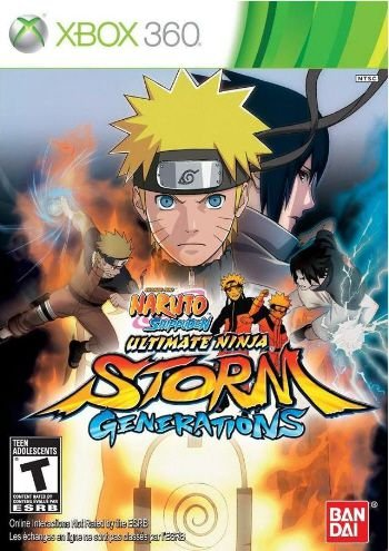 X360 Naruto Shippuden - Ultimate Ninja Storm Generations (usado)