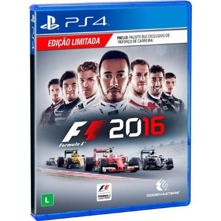 Formula 1 2016 - PS4 (usado)