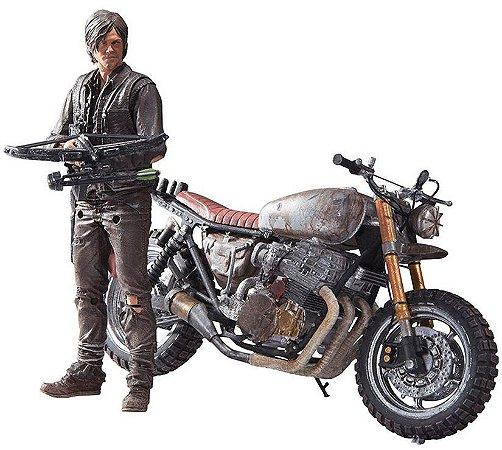 Daryl Dixon: Custom Bike The Walking Dead - Color Tops Mcfarlane Toys