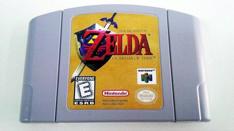 N64 The Legend of Zelda - Ocarina of Time (usado)