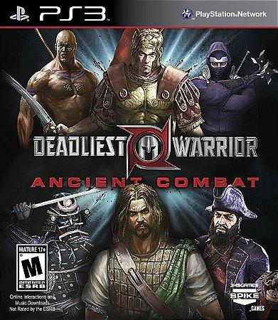 PS3 Deadliest Warrior - Ancient Combat (usado)