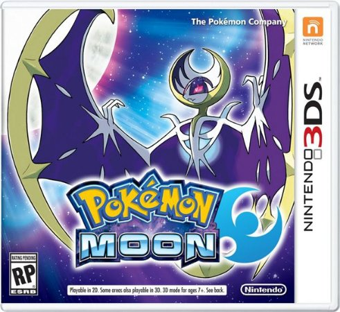 Pokemon Moon - 3DS (usado)