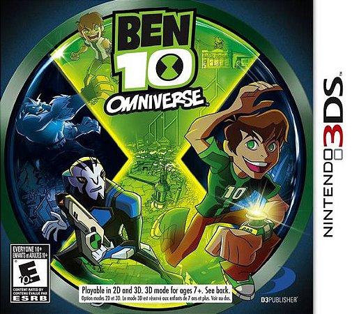 3DS Ben 10 Omniverse (usado)