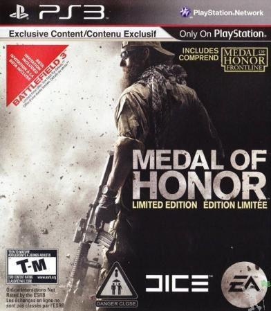 Medal of Honor - PS3 (usado)