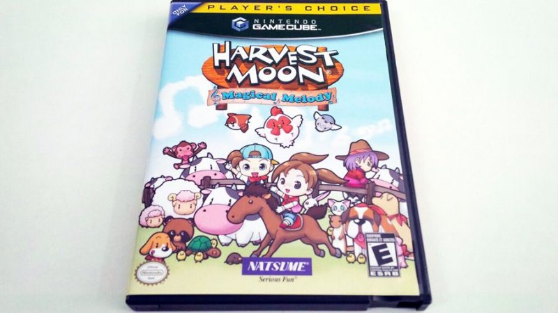 Harvest Moon: Magical Melody - Gamecube (usado)
