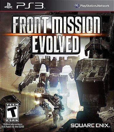 Front Mission: Evolved - PS3 (usado)