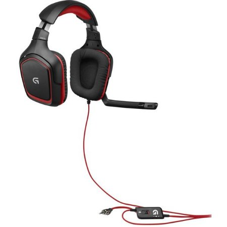 Headset Stereo Gaming G230 Logitech PC