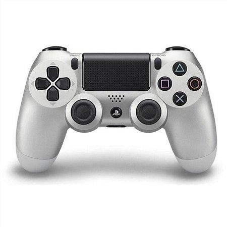 Controle PS4 Dualshock 4 Silver Japones