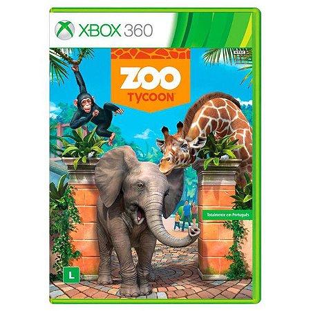 Zoo Tycoon - Xbox 360 (usado)