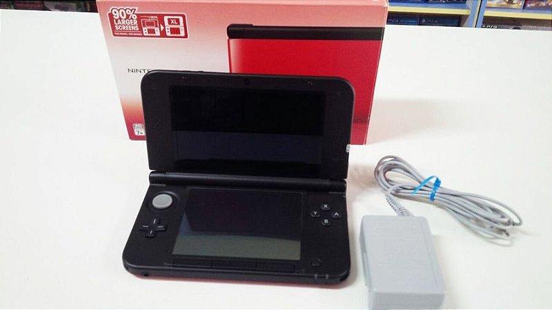 Nintendo 3DS XL Vermelho (usado)
