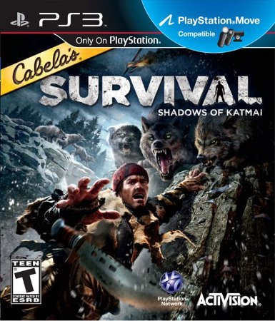 PS3 Cabela´s Survival - Shadows of Katmai (usado)