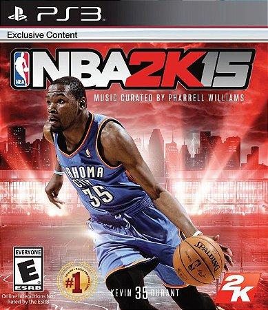 NBA 2K15 - PS3 (usado)