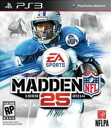 PS3 Madden NFL 25 (usado)
