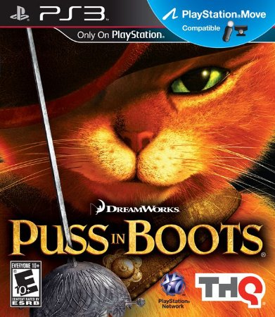 PS3 Puss in Boots (usado)