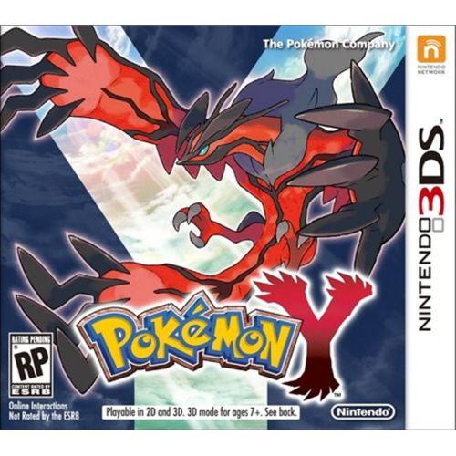 Pokemon Y - 3DS (usado)
