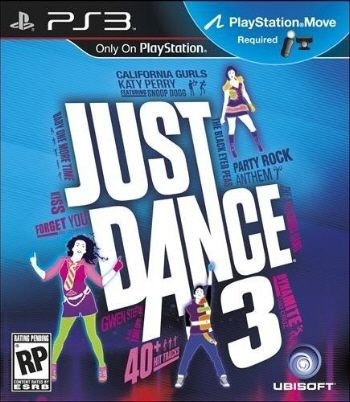 Just Dance 3 - PS3 (usado)