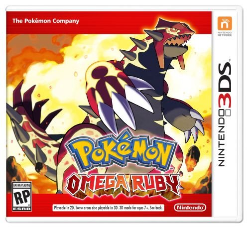 Pokemon: Omega Ruby - 3DS (usado)
