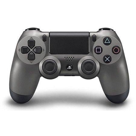 Controle PS4 Dualshock 4 Steel Black Japonês