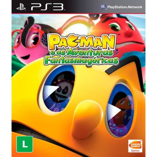 Pac-Man: E as Aventuras Fantasmagóricas - PS3 (usado)