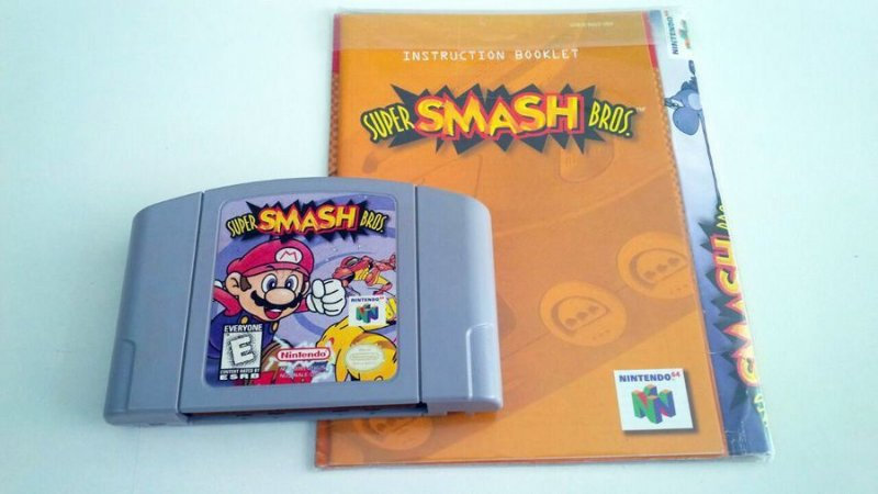 Super Smash Bros - N64 (usado)