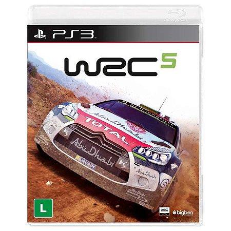 WRC 5 - PS3 (usado)