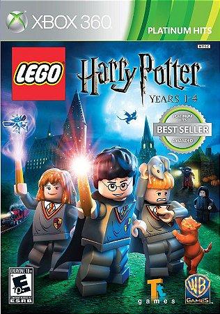Lego Harry Potter: Years 1-4 - Xbox 360 (usado)