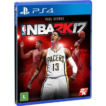 NBA 2K17 - PS4 (usado)