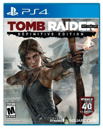 Tomb Raider: Definitive Edition - PS4 (usado)