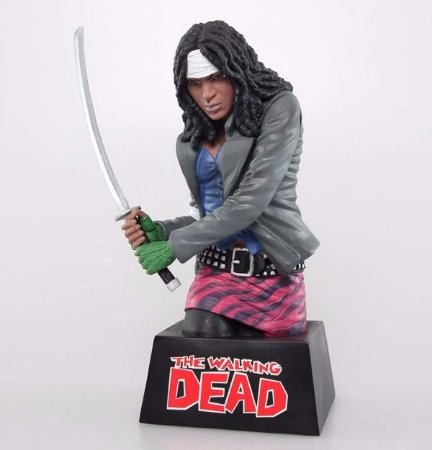 Cofre Michonne Busto: The Walking Dead - Diamond
