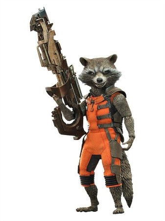 Rocket: Guardians of The Galaxy - Hot Toys