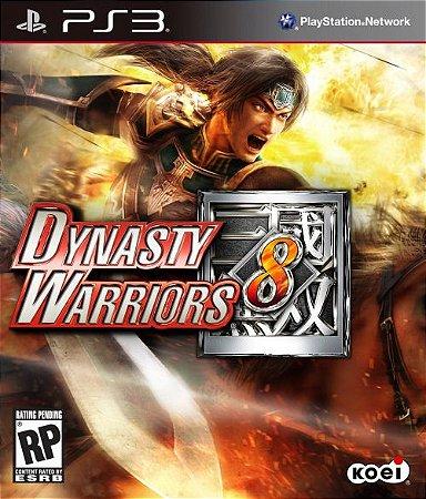 Dynasty Warriors 8 - PS3 (usado)