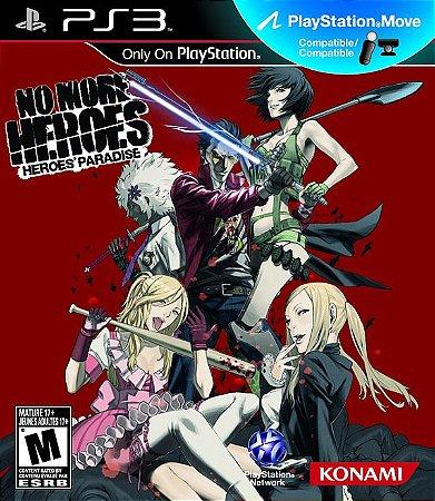 No more Heroes: Heroes Paradise - PS3 (usado)