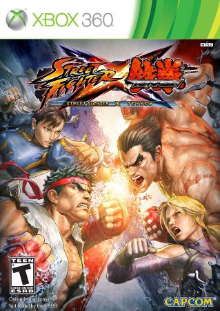 Street Fighter X Tekken - Xbox 360 (usado)