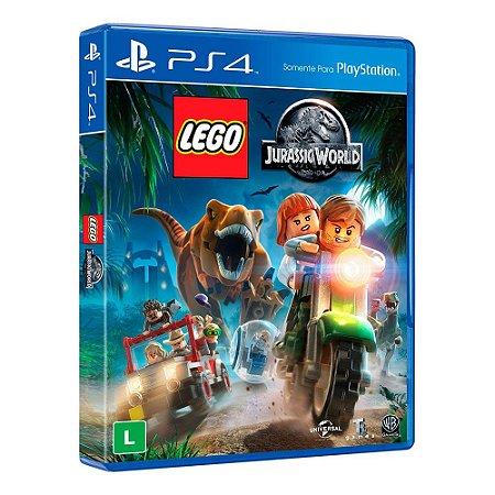 Lego: Jurassic World - PS4 (usado)