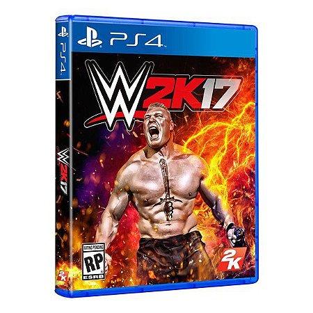 WWE 2K17 - PS4 (usado)