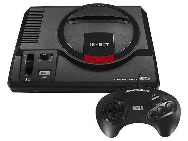 Mega Drive 16Bits C/ 22 Jogos na Memoria - Tec Toy