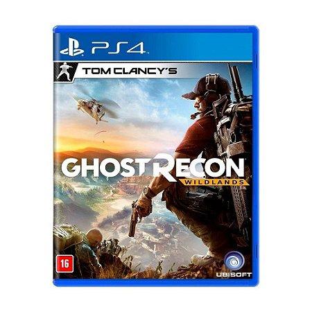 Ghost Recon: Wildlands - PS4 (usado)