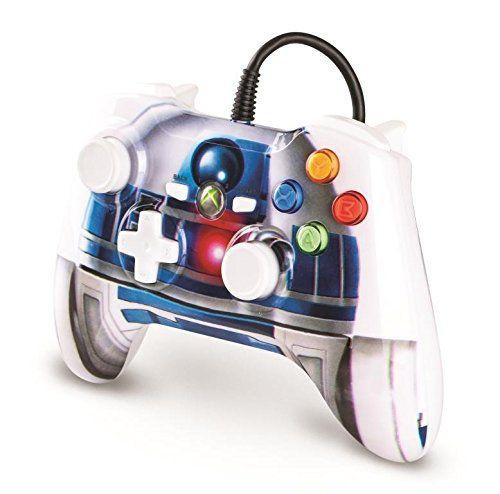Controle Xbox 360 Power A C/ Fio: Star Wars R2-D2