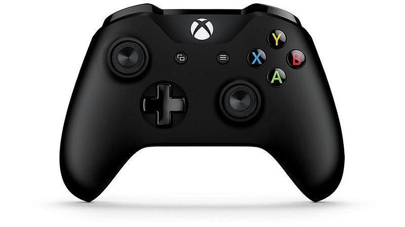 Controle Xbox One S Preto Wireless