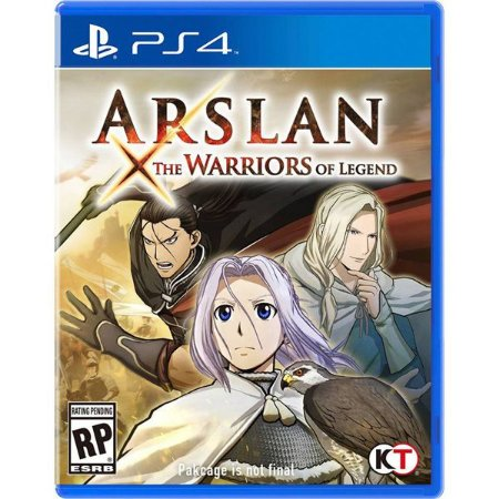Arslan: The Warriors Of Legend - PS4 (usado)