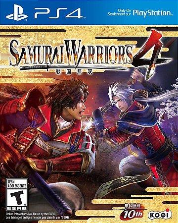 Samurai Warriors 4 - PS4 (usado)