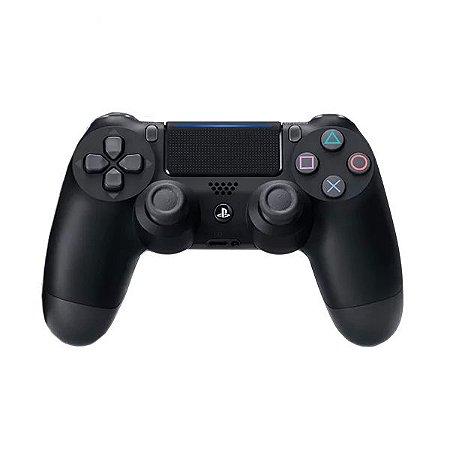 Controle PS4 DualShock 4 Jet Black Europeu CUH-ZCT2E