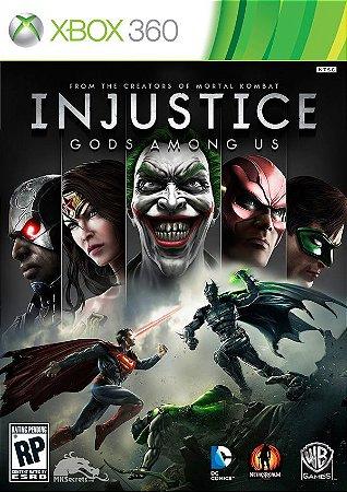 Injustice: Gods Among US - Xbox 360 (usado)